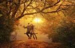 Красивые статусы короткие про осень
