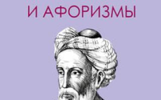 Самые мудрые афоризмы и притчи омара хайяма