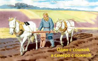 Пословицы о лени и труде