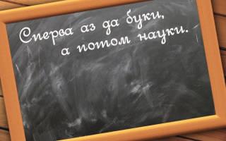 Пословицы о школе