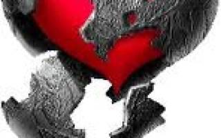 Про разбитое сердце статус