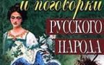 Владимир даль пословицы и поговорки русского народа